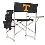 Picnic Time® University of Tennessee Collegiate Folding Sports Chair in Black