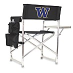Picnic Time® University of Washington Collegiate Folding Sports Chair in Black