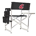 Picnic Time® Washington State Collegiate Folding Sports Chair in Black