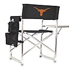 Picnic Time® University of Texas Black Collegiate Folding Sports Chair