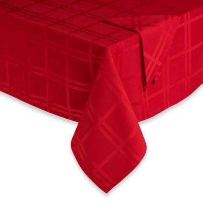 Origins™ Holiday 52-Inch x 52-Inch Tablecloth in Red