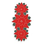 Winter Poinsettia Centerpiece Runner