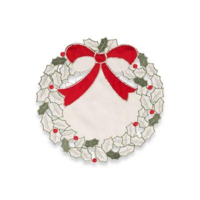 Table Christmas Wreath