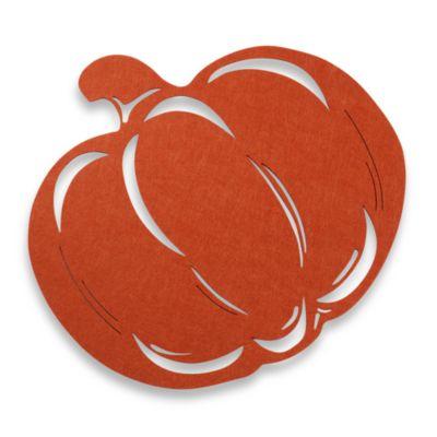 Felt Pumpkin Placemat
