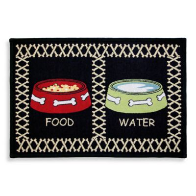 Park B. Smith® Meal Time 1-Foot 7-Inch x 1-Foot 1-Inch Pet Mat