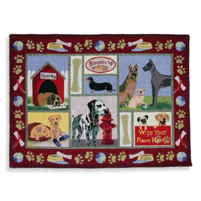 Park B. Smith® Dog Days 19-Inch x 13-Inch Area Rug