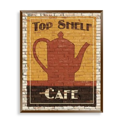 Top Shelf Coffee I Wall Art