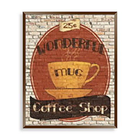 Top Shelf Coffee II Wall Art
