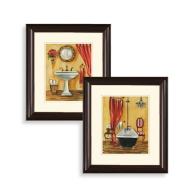 Orange Theme Wall Art (Set of 2)