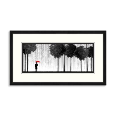 Falling Rain Wall Art