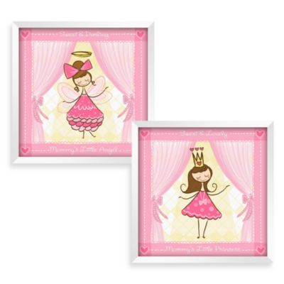 Pink Yellow Baby Wall Decor