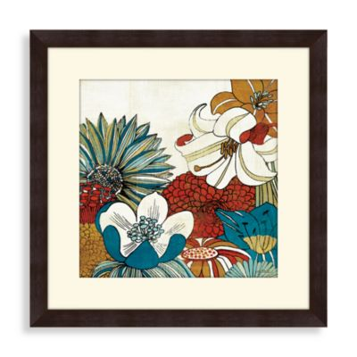 Mama's Teal Garden I Wall Art