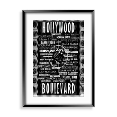Hollywood Blvd I Wall Art