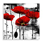 Line of Poppies Wall Art