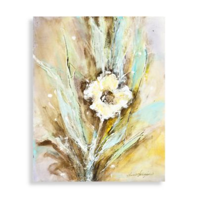 Blue Floral Wall Art