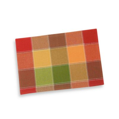 Autumn Check Placemat
