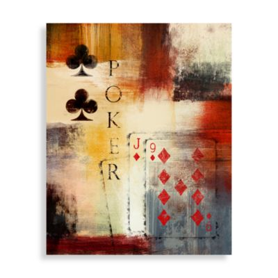 Art Poker I Wall Art