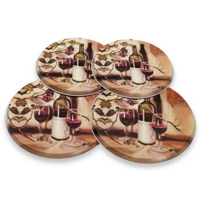 Range Kleen® Decorative Ripe from the Vine Burner Covers (Set of 4)