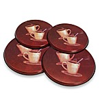 Range Kleen® Decorative Hallmark Coffee Burner Kovers (Set of 4)