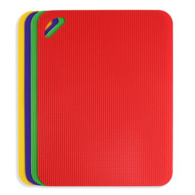 Dexas® Heavy Duty Grippmat® Cutting Boards (Set of 4)