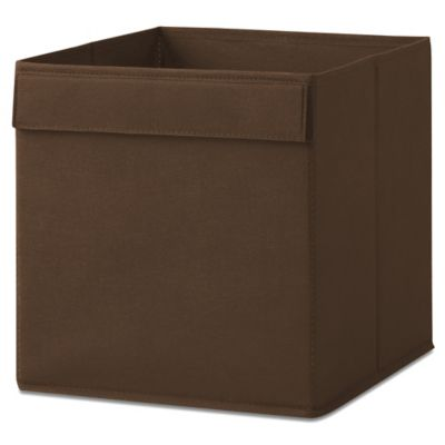 Fabric Drawer in Espresso