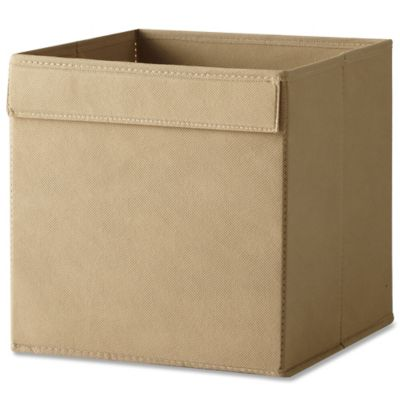 Real Simple® Fabric Bin in Mocha