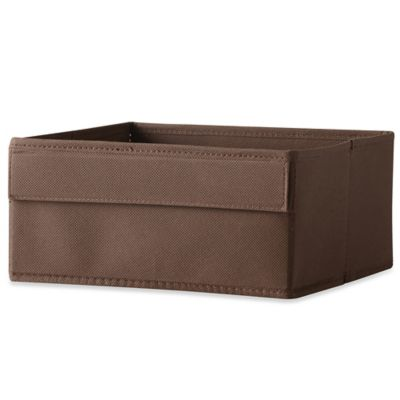 Real Simple® Half Height Fabric Drawer in Espresso