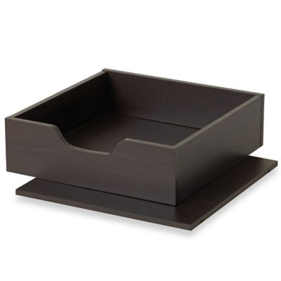 Real Simple®  Shelf & Tray Kit in Espresso