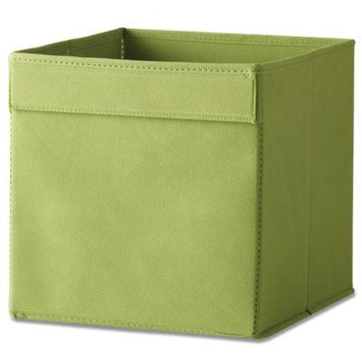 Real Simple® Fabric Bin in Green