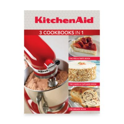 KitchenAid® 3 Cookbooks in 1: Pies & Tarts, Cakes & Cupcakes, Breads