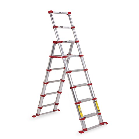 Xtend & Climb® SL675 Telescoping Aluminum Step Ladder