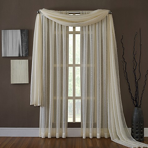 KAS® Dash Sheer Window Curtain Panel