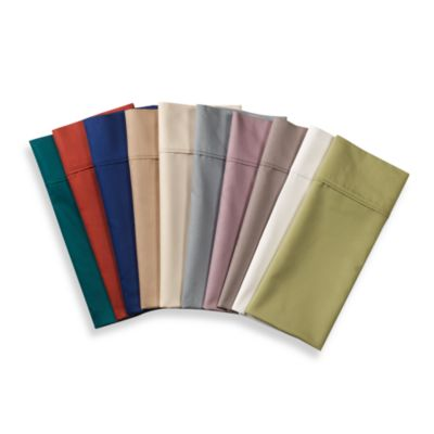 Teal Cotton Sateen Sheets