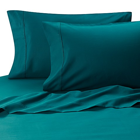 MicroTouch Sateen Standard Pillowcase (Set of 2) in Teal