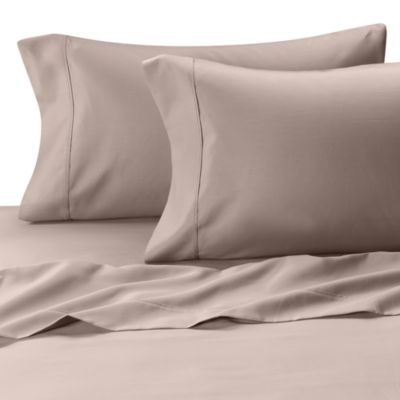 MicroTouch Queen Sateen Sheet Set in Grey