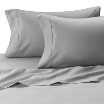 MicroTouch Queen Sateen Sheet Set in Sky