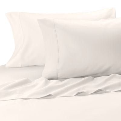 MicroTouch Sateen Standard Pillowcase (Set of 2) - Standard - White