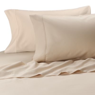 MicroTouch Queen Sateen Sheet Set in Ivory