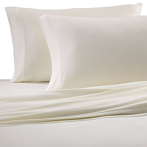 Pure Beech® Jersey Knit Queen Sheet Set in Natural