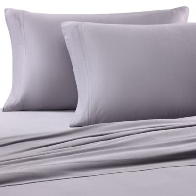 Pure Beech® Jersey Knit Standard Pillowcase in Graphite (Set of 2)