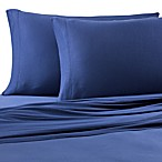 Pure Beech® 100% Modal Jersey Knit Queen Sheet Set in Navy