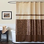 Crocodile Brown 72-Inch x 72-Inch Shower Curtain