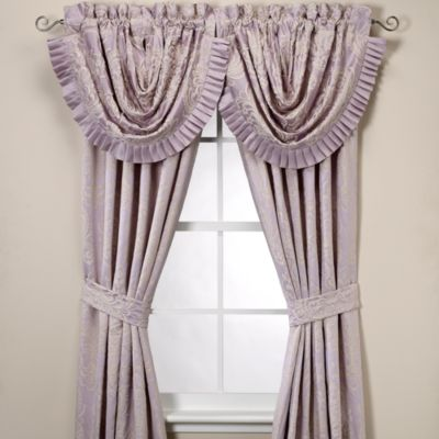 J. Queen New York™ Chateau 84-Inch Window Curtain Panel Pair