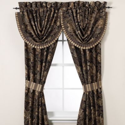 "J. Queen New York™ Alicante 84"" Window Curtain Panel Pair"