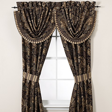 J Queen New York Alicante 84 Window Curtain Panel Pair Bed Bath Beyond