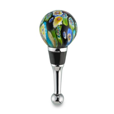 Millefiore Glass Wine Bottle Stopper