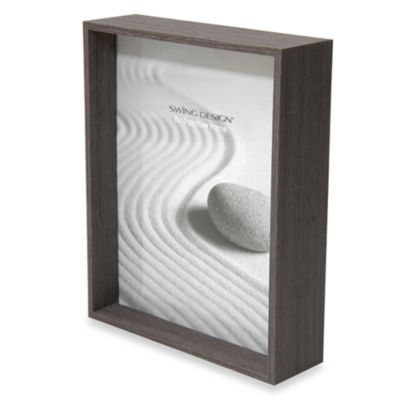 Swing Design™ Stratton 8-Inch x 10-Inch Frame in Charcoal