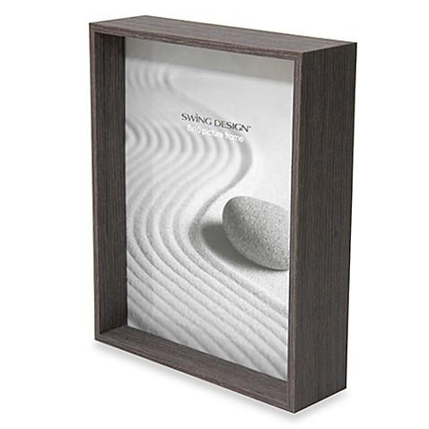 swing design stratton frames in charcoal bed bath beyond