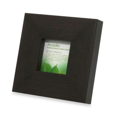 Swing Design™ Acadia Espresso 3-Inch x 3-Inch Mini Photo Frame