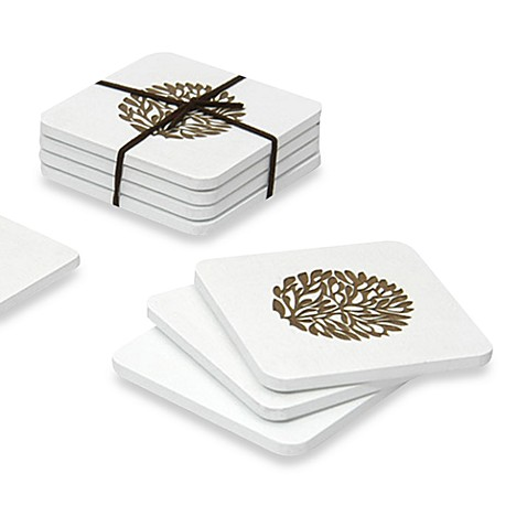 Swing Design™ Laurel Coasters (Set of 4)